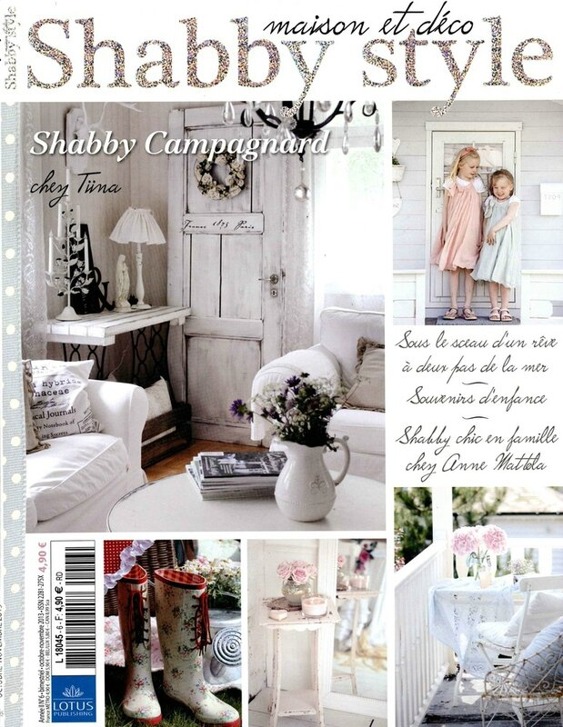 maison et d co shabby style la maison de milly. Black Bedroom Furniture Sets. Home Design Ideas