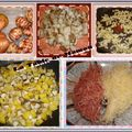 Tortilla topinambours, jambon
