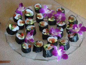 sushis maison