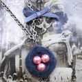 Collier nid d'oiseau