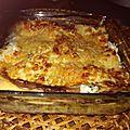 Lasagne aubergine et épinards