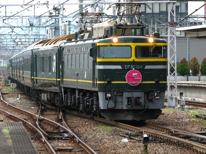 Twilight Express EF 81 104 Kyôto