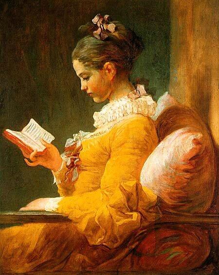 Jeune fille lisant Jean-Honoré Fragonard