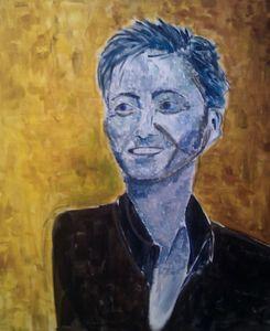Portrait selon Cezanne