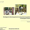 Stratégie de développement du tourisme équestre en champagne-ardenne