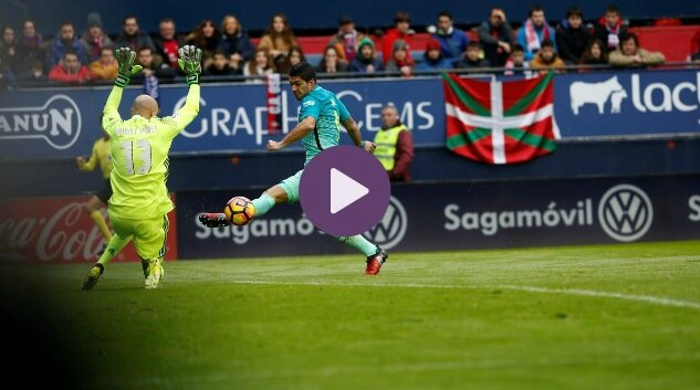 video but osasuna barcelone