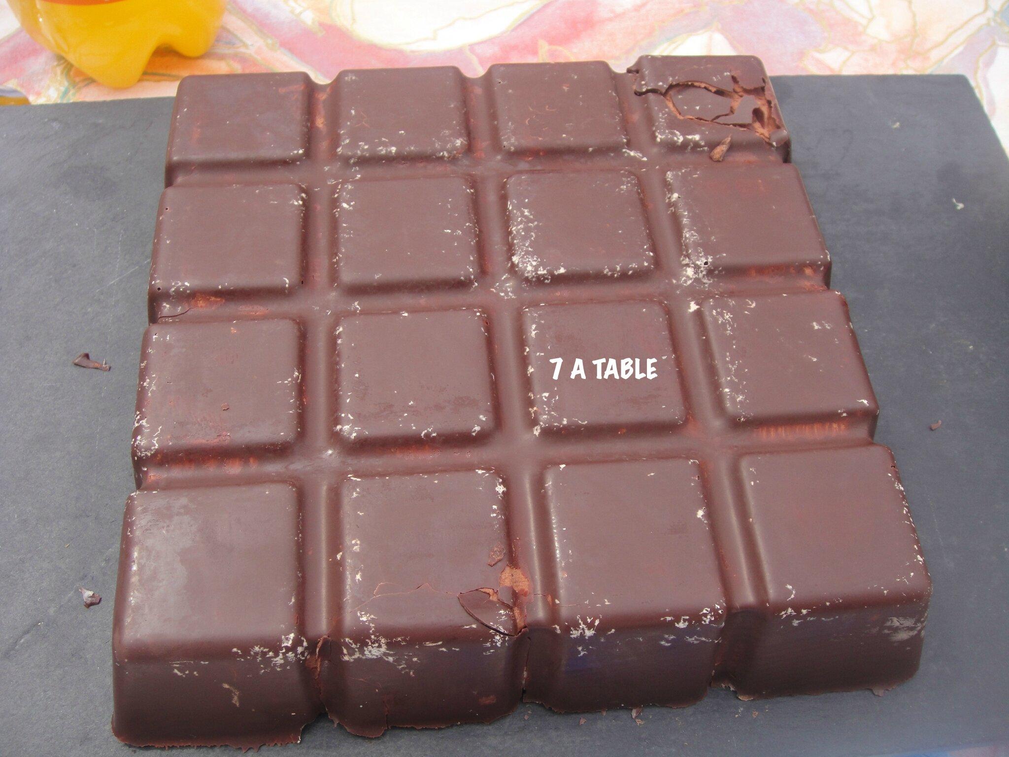 Gateau au chocolat flexipan