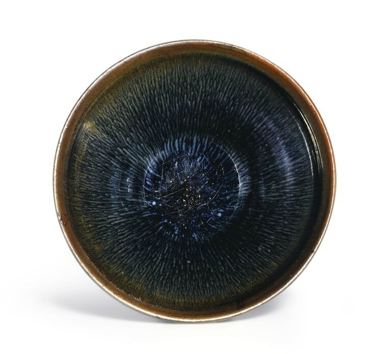 A rare 'Jian' 'Hare's fur' 'Temmoku' tea bowl, Southern Song Dynasty
