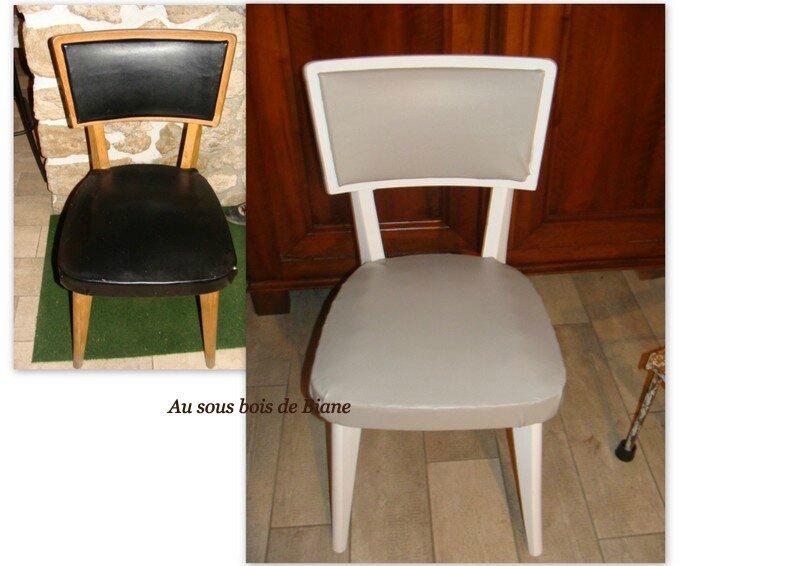 chaises skaï2