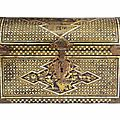 A lacquer casket commissioned by the portuguese, momoyama period, late 16th century