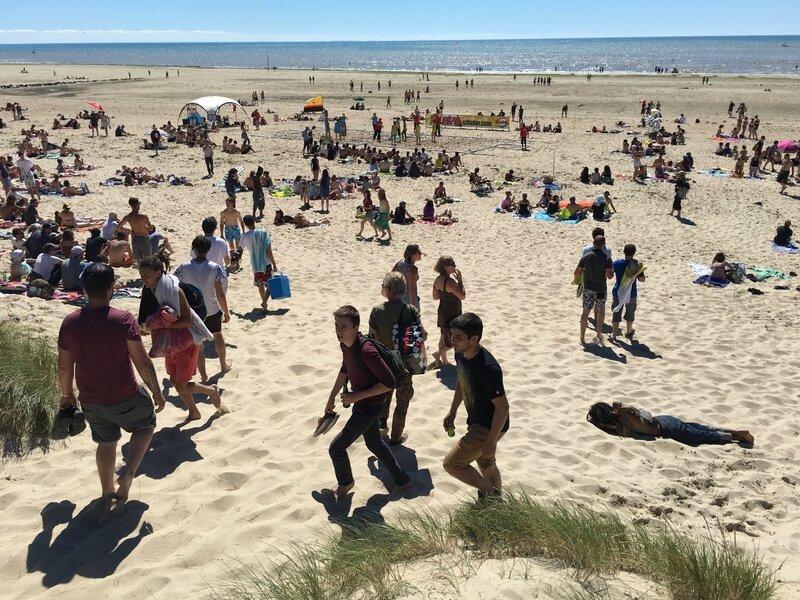 festival Chauffer dans la Noirceur CDLN 2016 Montmartin plage playa mer