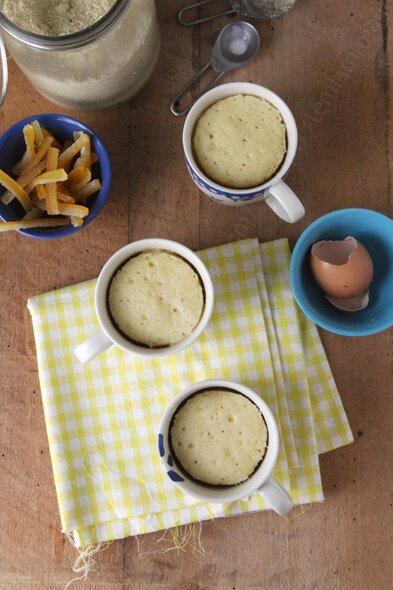 recette mug cake orange 002 LE MIAM MIAM BLOG