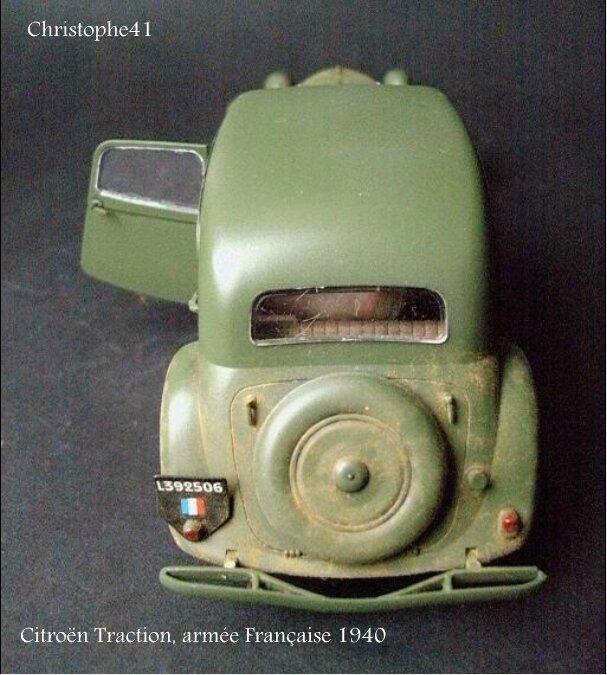 Citroën Traction, armée Française 1940 - PICT5032