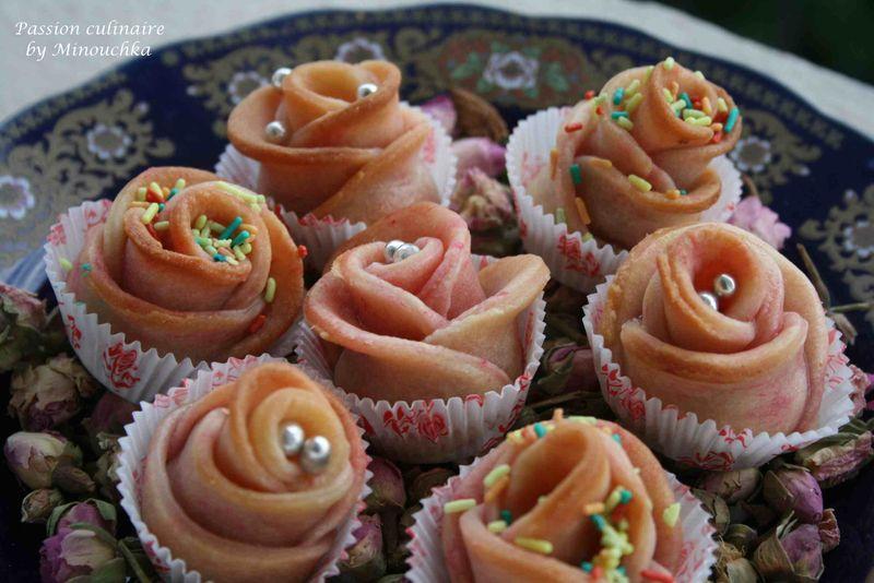 Les roses p tisserie alg rienne passion culinaire by for Portent en arabe