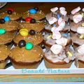 cupcakes cacahuètes et chamallows