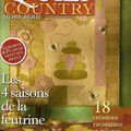 Quilt Country les 4 saisons de la feutrine