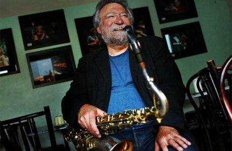 Evan Parker (photo Vortex Jazz Club)