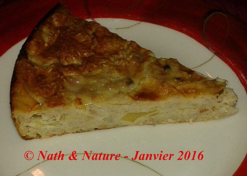 Gâteau pomme-banane aux flocons d'avoine - 2
