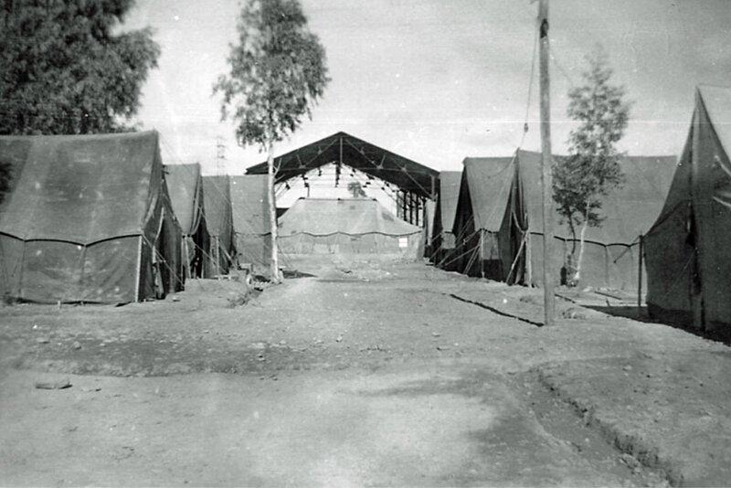 ZOUAVES VAISSON Ferme SAR 10 campement