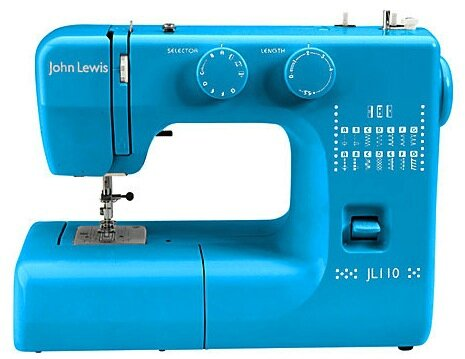 Machines à coudre en technicolor - john lewis