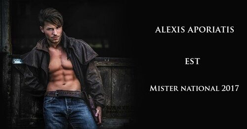 Alexis Aporiatis . Mister National 2017