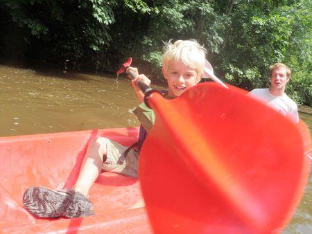 21 juin 2012 Kayak annif Gabin (7)