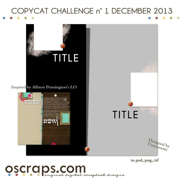 Preview Challenge Copycat Oscraps December 13