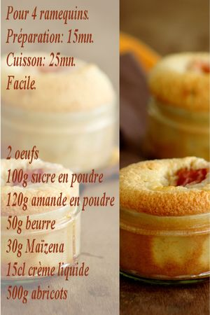 recette amandine abricot