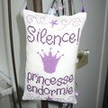 Silence Princesse endormie violet (nov07)