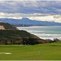 Golf d' ilbarritz... pose vacances
