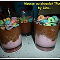 Mousse au chocolat 