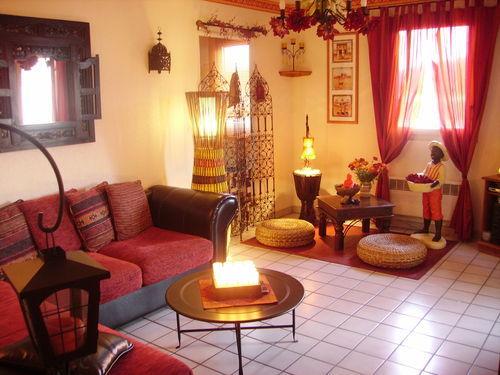 Mon salon passionn ment for Deco chambre style africain