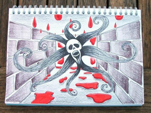 art journal_2016 08_AJEG 115_cauchemar couleur