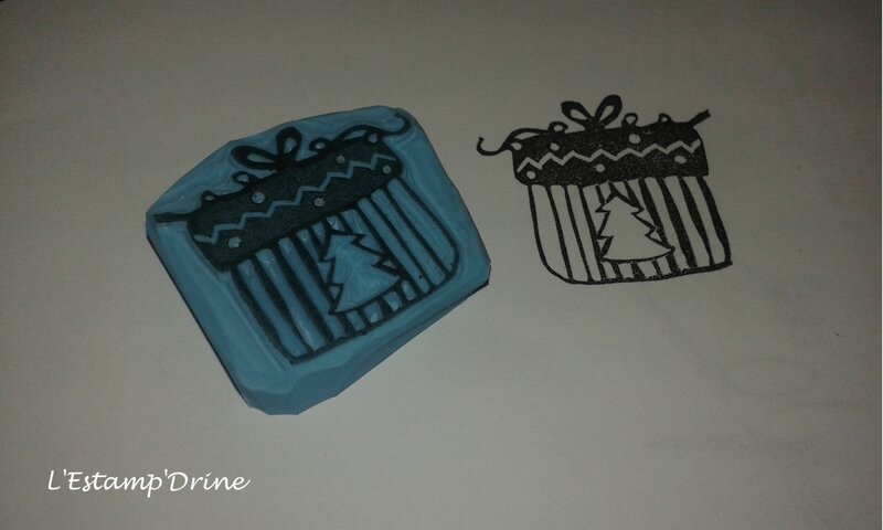 cadeau noel tampon gomme