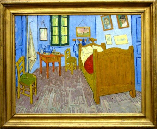 la chambre de van gogh arles vincent van gogh photo de 6 les impressionnistes orsay. Black Bedroom Furniture Sets. Home Design Ideas