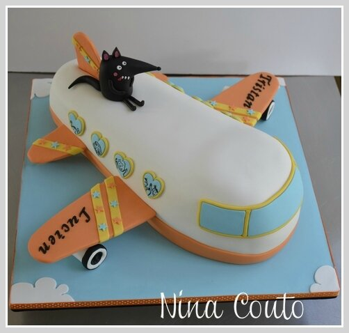 gateau aviao cake design nimes