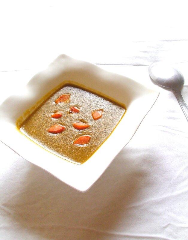 soupe de lentille et pois cassés épicées2