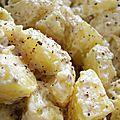 Salade de pommes de terre au gomasio