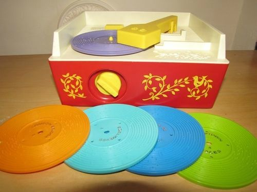 Fisher Price records music