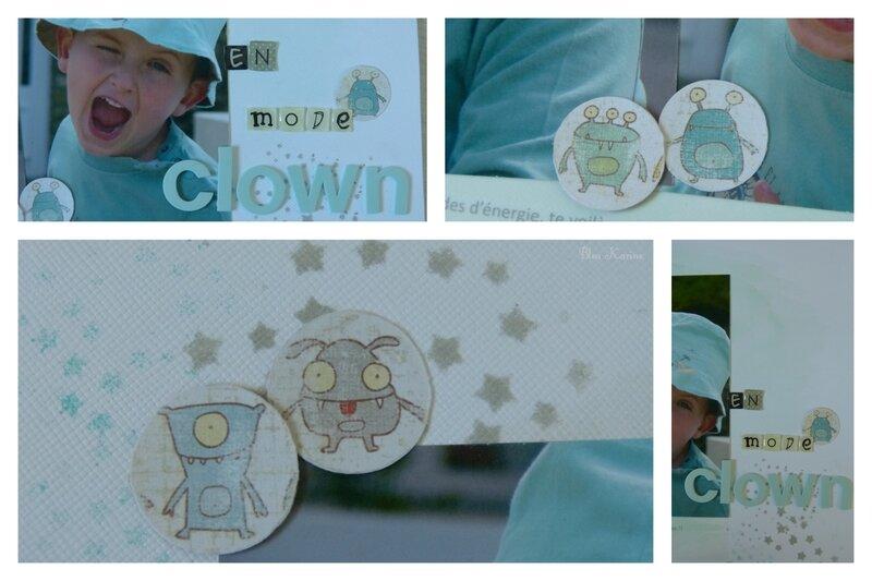 montage mode clown