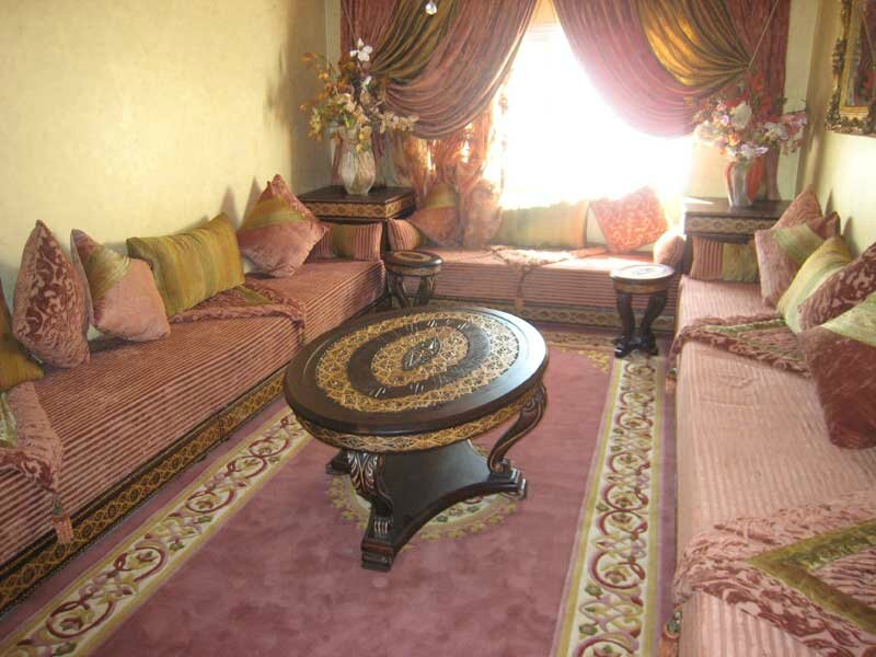 decoration petit salon algerien. Black Bedroom Furniture Sets. Home Design Ideas