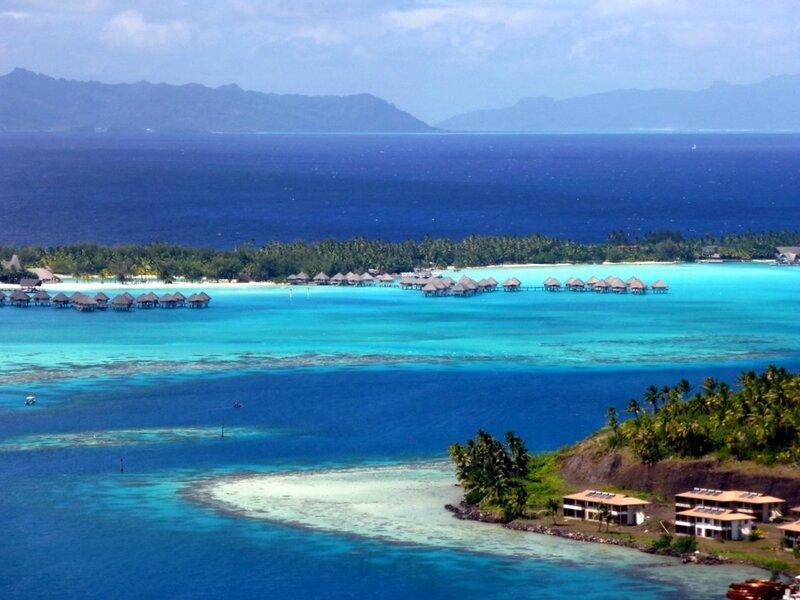 This is Bora Bora
