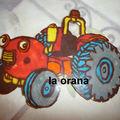 Tracteur Tom en chocolat