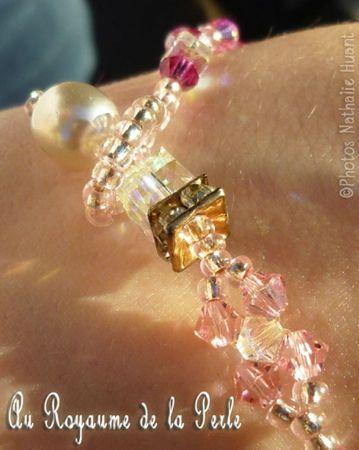 Bracelet Romantica détail agrandie pour ALM