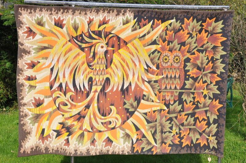 tapisserie murale d 39 alain cornic jour et nuit moins 15 sur le prix initial 28 4 2014. Black Bedroom Furniture Sets. Home Design Ideas