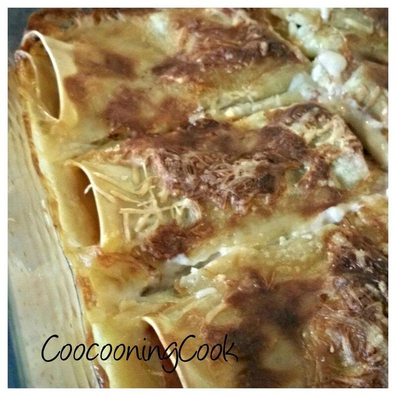 lasagnes roulées jambon-champignons