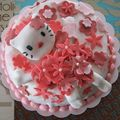 Gateau hello kitty