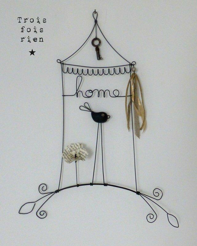 piou septembre 2014, oiseau fil de fer, wire bird N°381