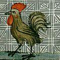 Le coq, créature de lumière