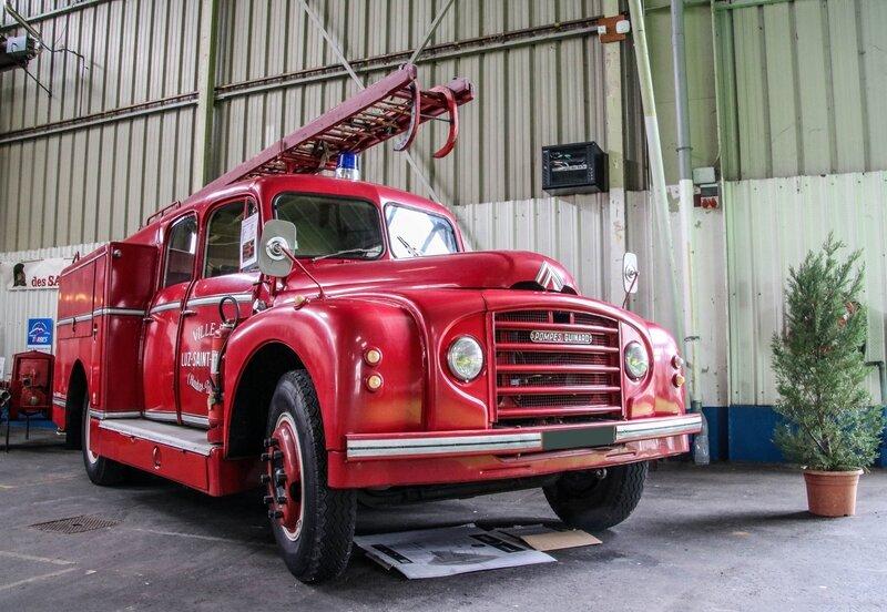 Citroën P45 camion de pompiers